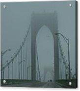 Foggy Day Acrylic Print