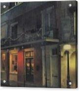 Foggy Night On Dumaine Acrylic Print