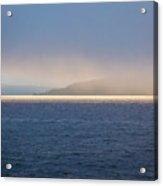 Foggy Sunset Acrylic Print