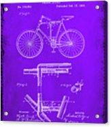 Folding Bycycle Patent Drawing 1e Acrylic Print