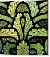 Foliage Pattern Acrylic Print