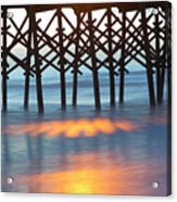 Folly Beach Abstract Acrylic Print