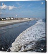 Folly Beach Charleston Sc Acrylic Print