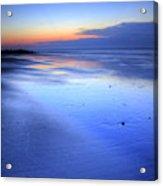 Folly Beach Dawn II Acrylic Print