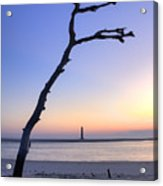 Folly Beach Sunrise Over Morris Island Acrylic Print