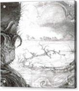 Fomorii Swamp Acrylic Print