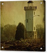 Fond Du Lac Lighthouse Acrylic Print