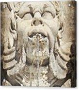 Fontana Del Pantheon 2 Acrylic Print