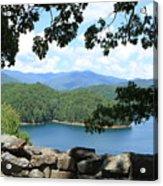 Fontana Lake At The Dam Acrylic Print