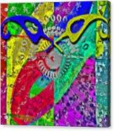 FontArt Series  Cosmic Attraction Acrylic Print