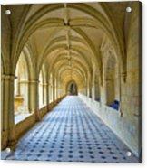 Fontevraud Abbey Cloister, Loire, France Acrylic Print