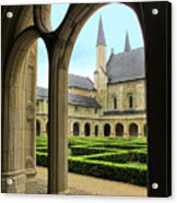 Fontevraud Abbey Acrylic Print
