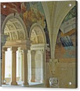Fontevraud Abbey Refectory, Loire, France Acrylic Print