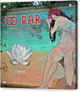 Foo Bar Artwork Acrylic Print