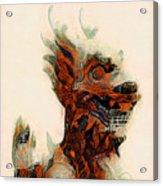 Foo Dog Acrylic Print