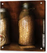 Food - Corn Yams And Oatmeal Acrylic Print