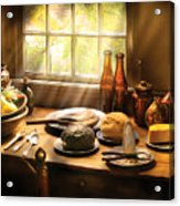 Food - Ready For Guests Acrylic Print