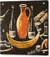 Food And Wine Acrylic Print