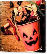 Food For The Little Halloween Spooks Acrylic Print