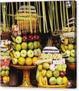 Food In Bali Acrylic Print
