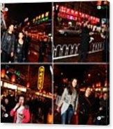 Food Street Beijing Acrylic Print