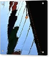 Foot Bridge Reflections 487 Acrylic Print