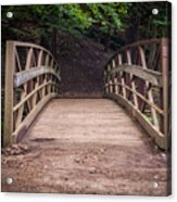 Foot Bridge Waiting Acrylic Print