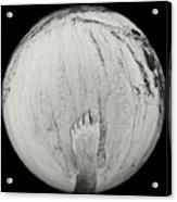 Foot On Earth Acrylic Print