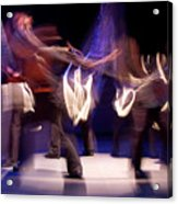 Foot Stomping Dance Acrylic Print