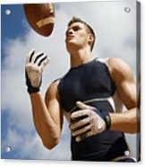 Football Athlete I Acrylic Print by Kicka Witte - Printscapes