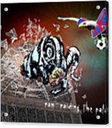 Football Derby Rams Against Crystal Palace Eagles Acrylic Print