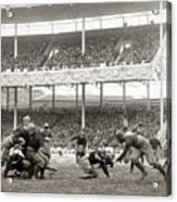 Football Game, 1916 Acrylic Print