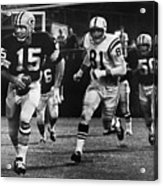 Football Game, 1966 Acrylic Print