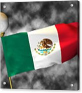 Football World Cup Cheer Series - Mexico Acrylic Print
