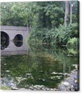 Footbridge Buckeye Falls Acrylic Print