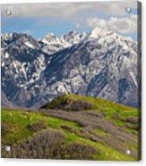 Foothills Above Salt Lake City Acrylic Print
