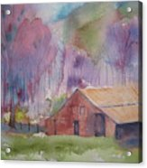 Foothills Farm Ll Acrylic Print