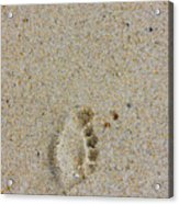 Footprint Acrylic Print
