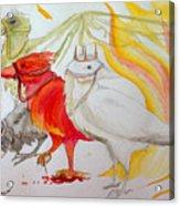 For Ravens Of The Apocalypse Acrylic Print