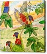 For The Birds Acrylic Print