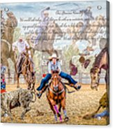 For The Love Of Rodeo II Acrylic Print