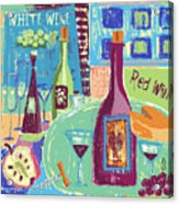 For The Love Of Wine Acrylic Print