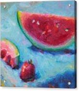 Forbidden Fruit Acrylic Print by Talya Johnson