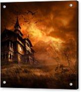 Forbidden Mansion Acrylic Print by Svetlana Sewell