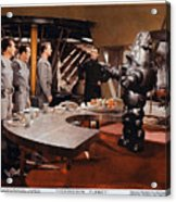 Forbidden Planet Amazing Poster Inside With Scientist Acrylic Print