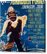 Forbidden Planet, Left Robby The Robot Acrylic Print