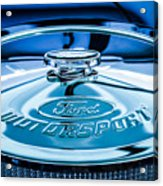 Ford Air Filter Lid Acrylic Print