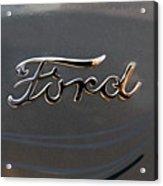 Ford Antique Auto Emblem Acrylic Print