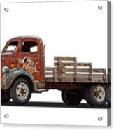 Ford Classic 7 Up Truck Acrylic Print