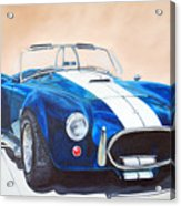 Ford Cobra In Oil Acrylic Print